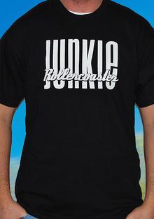 T-Shirt Rollercoaster Junkie