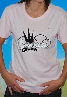 T-Shirt Coaster Queen
